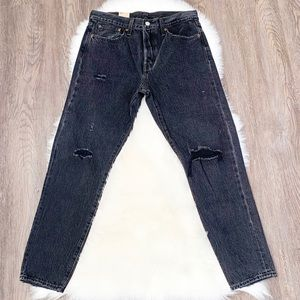 NWT Levi's Wedgie Icon Fit Faded Black Size 30